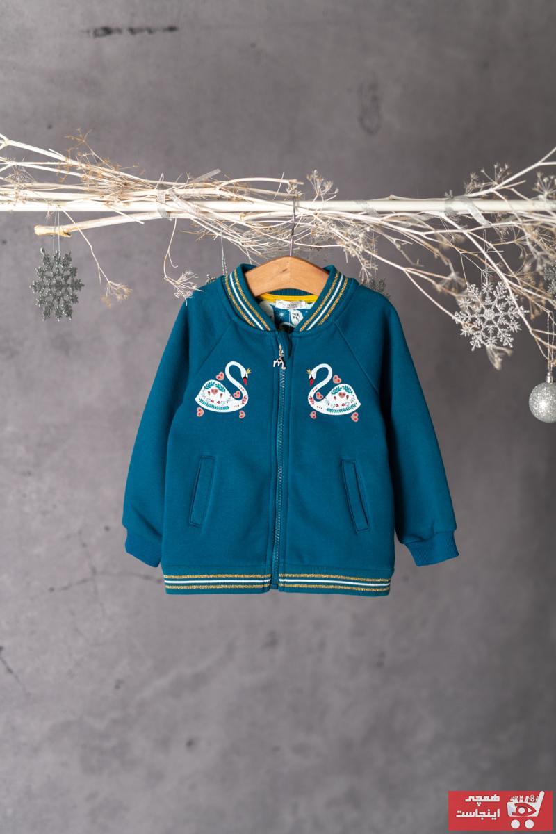 فروشگاه ژاکت دخترانه اینترنتی برند Zeyland رنگ آبی کد ty3762716