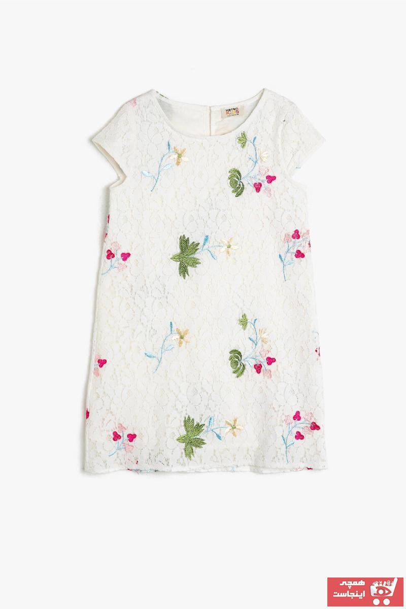 پیراهن دخترانه ست برند Koton Kids کد ty37628633