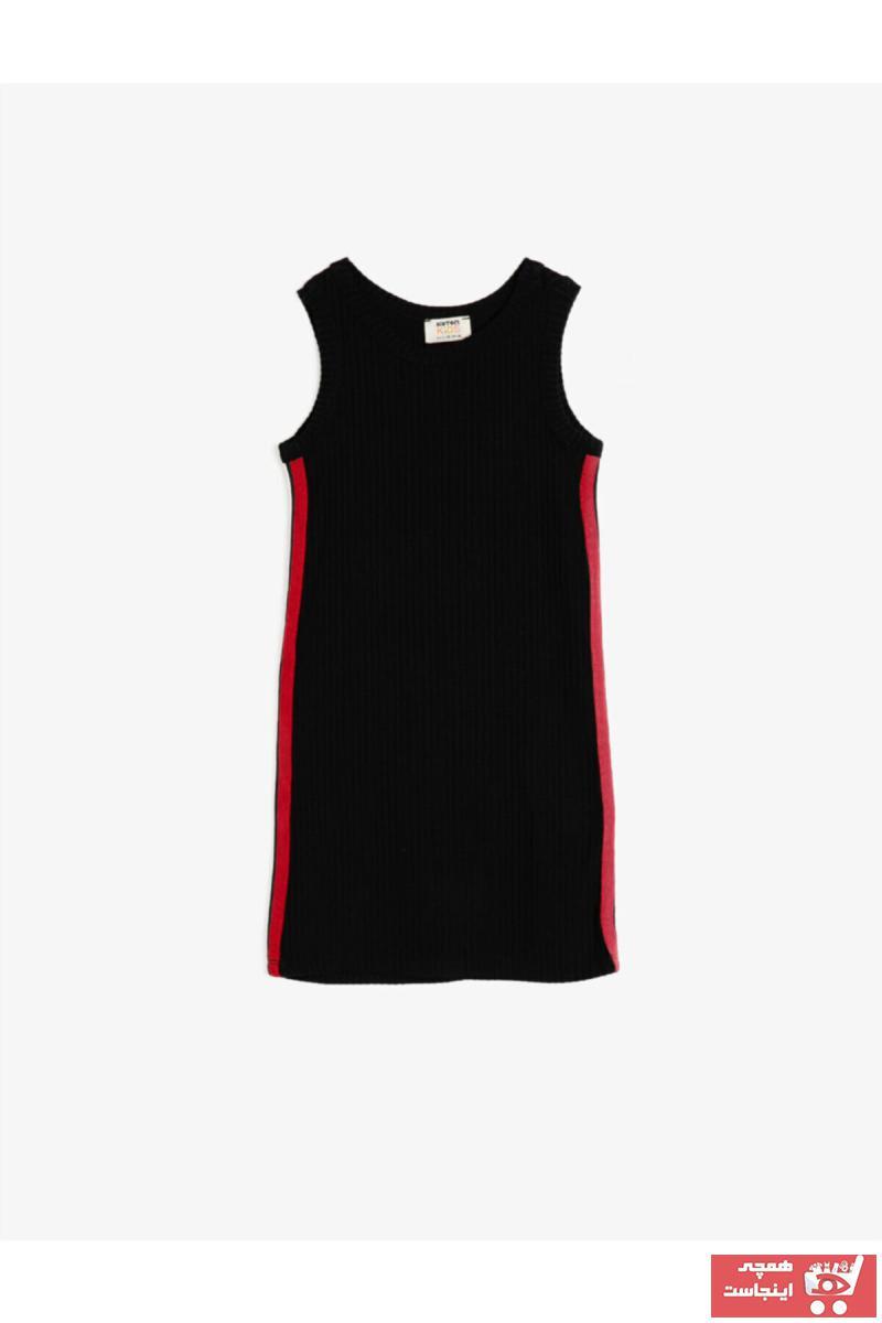 خرید اسان پیراهن دخترانه زیبا برند Koton Kids رنگ مشکی کد ty42690468