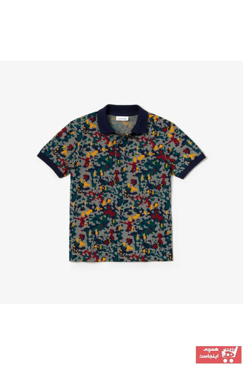 پولو شرت بچه گانه دخترانه مجلسی برند لاگوست lacoste رنگ سبز کد ty43784902