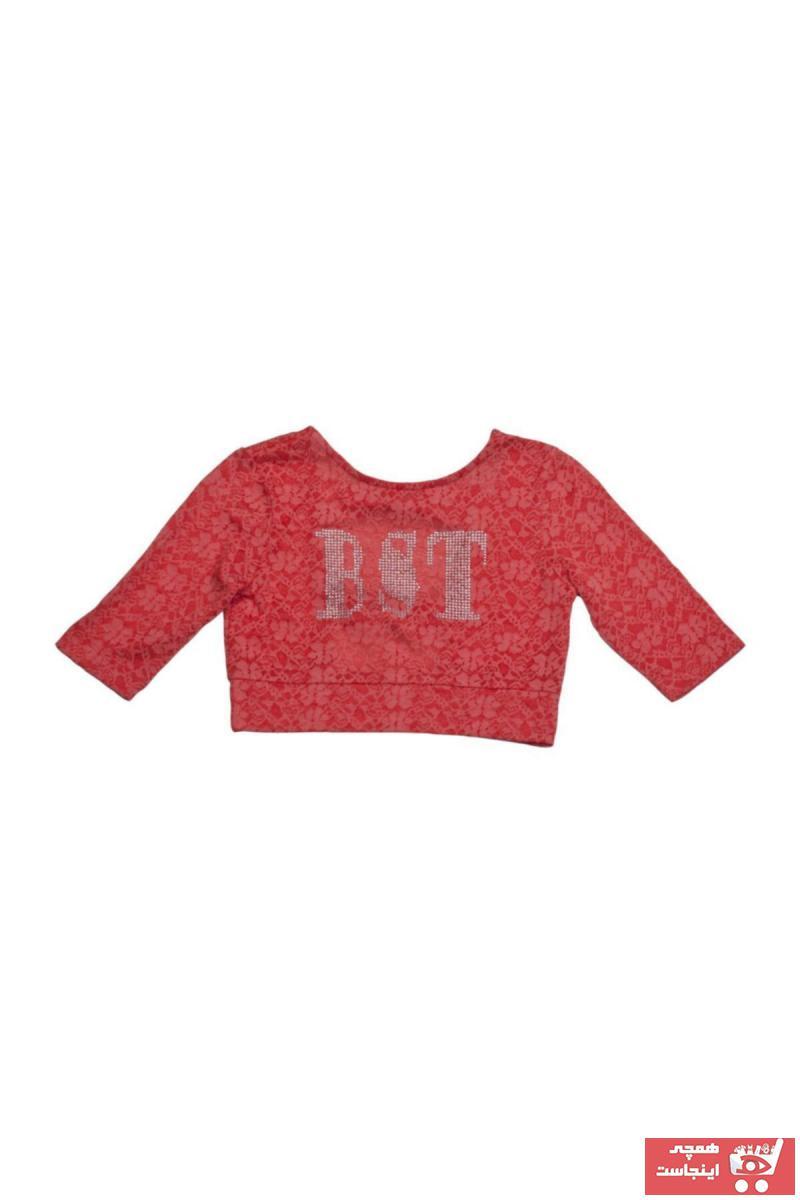 بلوز دخترانه اسپرت جدید برند best kids رنگ قرمز ty51689952