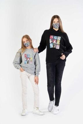 خرید انلاین سویشرت دخترانه خاص برند FINGER PRINT رنگ نقره ای کد ty62337448