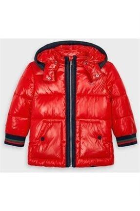 فروش کاپشن دخترانه خفن برند MAYORAL رنگ قرمز ty63099007