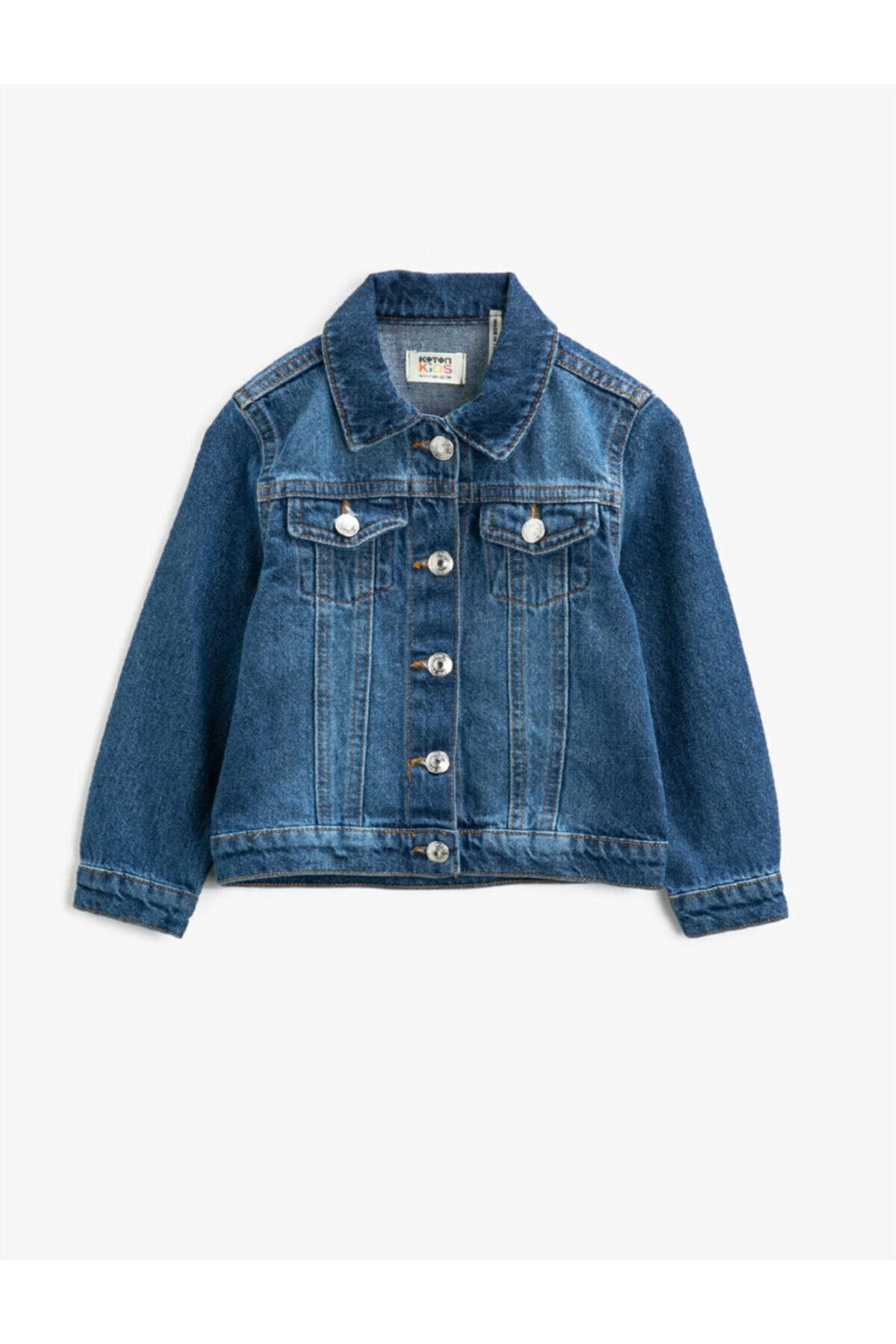 قیمت ژاکت دخترانه برند Koton Kids رنگ آبی کد ty77415918