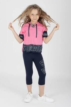 ست لباس دخترانه برند Ahenk Kids رنگ صورتی ty83068519