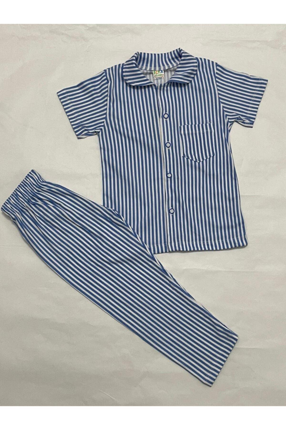 فروش پستی ست راحتی دخترانه شیک جدید برند Magnolya Giyim رنگ آبی کد ty93606384