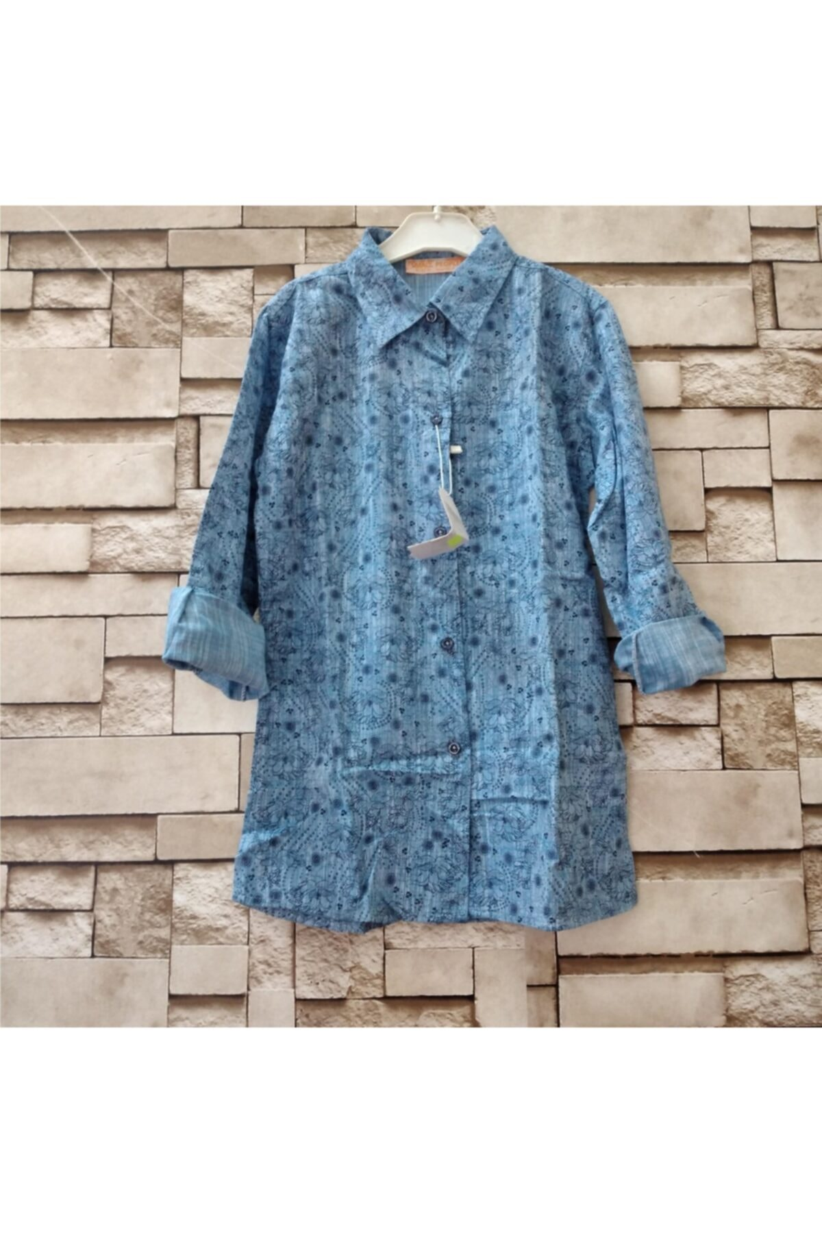 تونیک دخترانه ست برند Öykü Butik رنگ آبی کد ty95704248