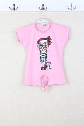فروش پستی تیشرت دخترانه ترک برند CLOUDY Kids رنگ صورتی ty97881770