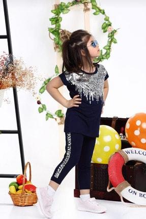 ست لباس دخترانه ارزان برند FEMOODS رنگ لاجوردی کد ty99049396