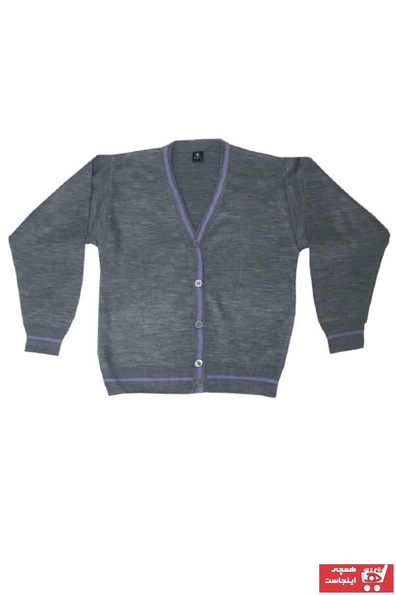 خرید انلاین ژاکت جدید دخترانه شیک برند BERRİNMİLLA رنگ نقره ای کد ty99645893