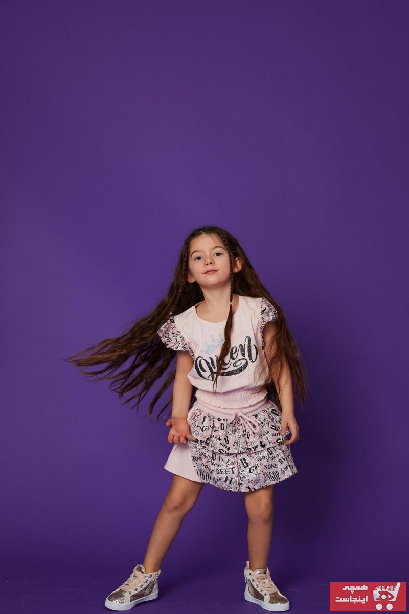 فروشگاه دامن اورجینال برند Little Star رنگ صورتی ty101411258