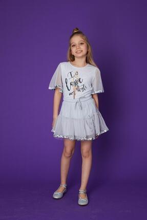 خرید دامن دخترانه برند Little Star رنگ قهوه ای کد ty101766615