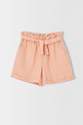 فروش شورتک دخترانه برند دفاکتو ترک رنگ کرمی کد ty113282651