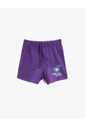 شلوارک دخترانه فروشگاه اینترنتی برند Koton Kids رنگ بنفش کد ty114419339