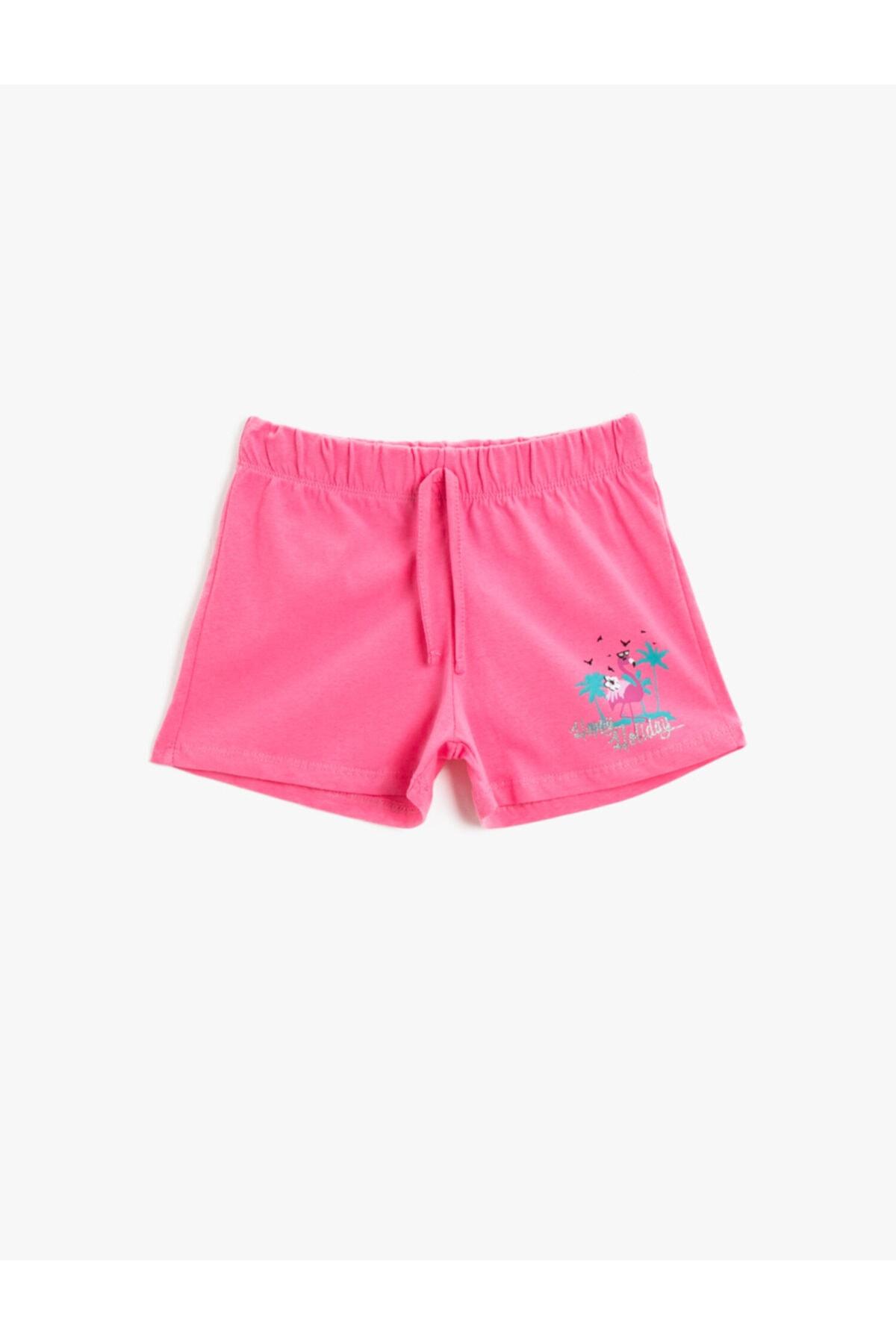 شلوارک دخترانه قیمت مناسب برند کوتون رنگ صورتی ty119266523