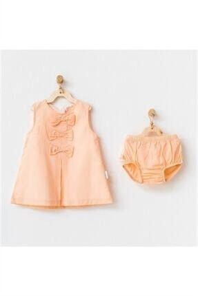 خرید نقدی لباس مجلسی نوزاد دخترانه ترک برند andywawa رنگ بژ کد ty123274774