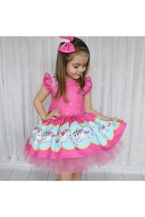 لباس مجلسی دخترانه شیک مجلسی برند Riccotarz رنگ صورتی ty35798029