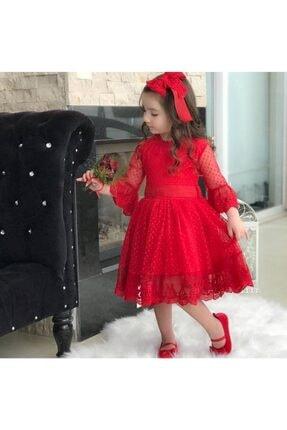 خرید پستی لباس مجلسی شیک دخترانه برند Riccotarz رنگ قرمز ty36297962