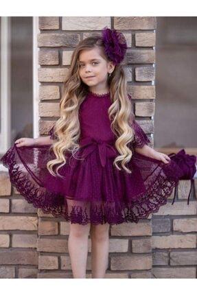 لباس مجلسی دخترانه با قیمت برند Riccotarz رنگ بنفش کد ty96605121