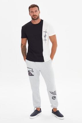 خرید تی شرت مردانه ترک جدید مارک ترندیول مرد رنگ مشکی کد ty101783628