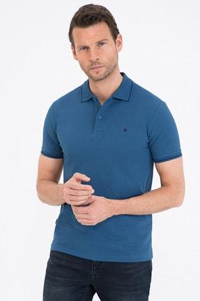 فروشگاه پولوشرت اورجینال برند پیرکاردن رنگ آبی کد ty102964597