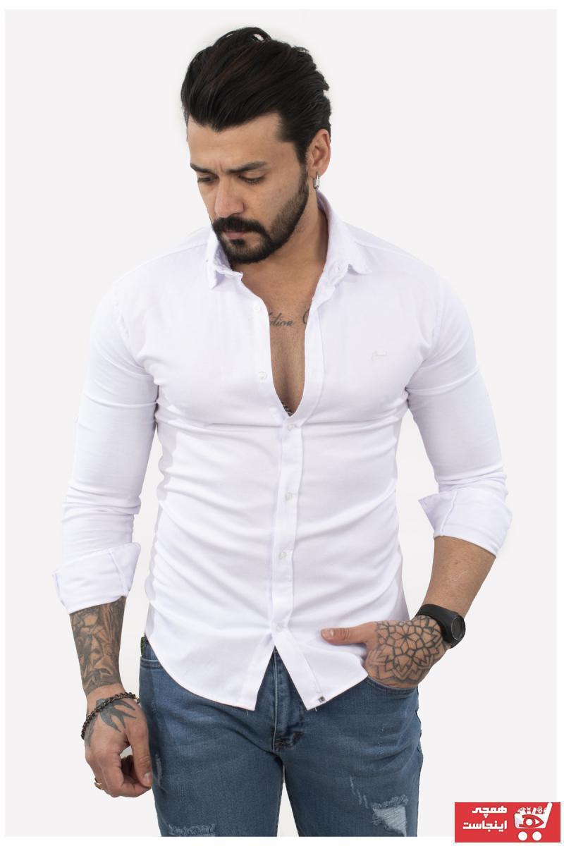 پیراهن مردانه جدید برند DeepSEA کد ty104184745
