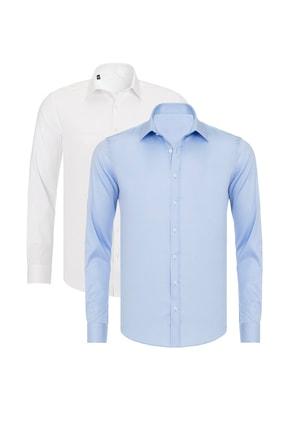 خرید انلاین پیراهن کلاسیک مردانه برند R-Germen کد ty104723698
