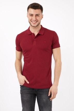 خرید انلاین پولوشرت مردانه ترکیه برند TRICKO رنگ زرشکی ty104876283