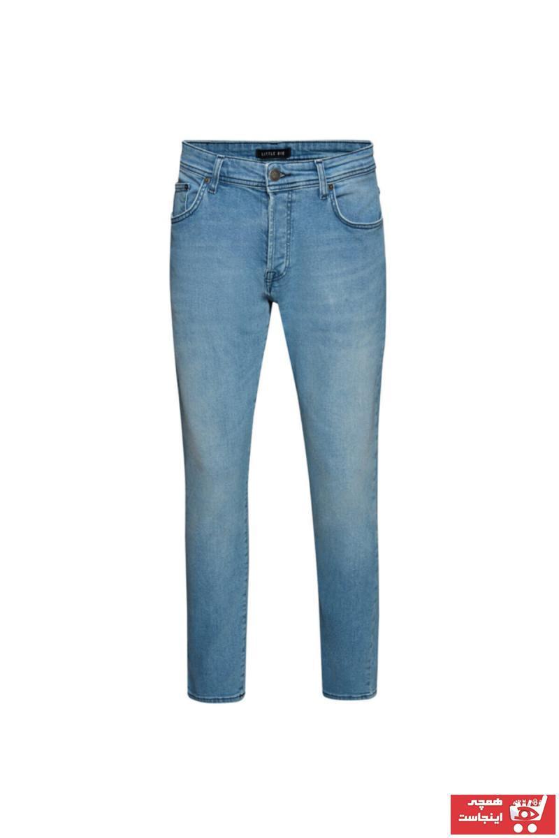 فروش پستی شلوار جین مردانه شیک جدید مارک ال تی بی رنگ آبی کد ty105096105