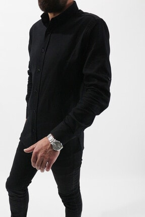 پیراهن مردانه برند Staff رنگ مشکی کد ty105682831