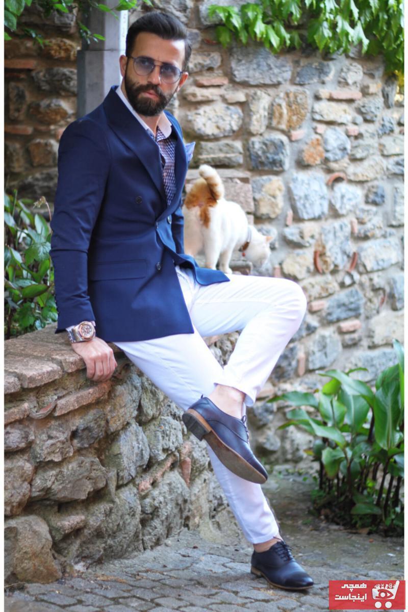 فروش کت تک مردانه خفن برند mustafakemalkurtfashion رنگ لاجوردی کد ty105881837