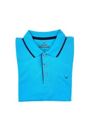 پولوشرت مردانه اسپرت جدید برند Cazador رنگ آبی کد ty106183361