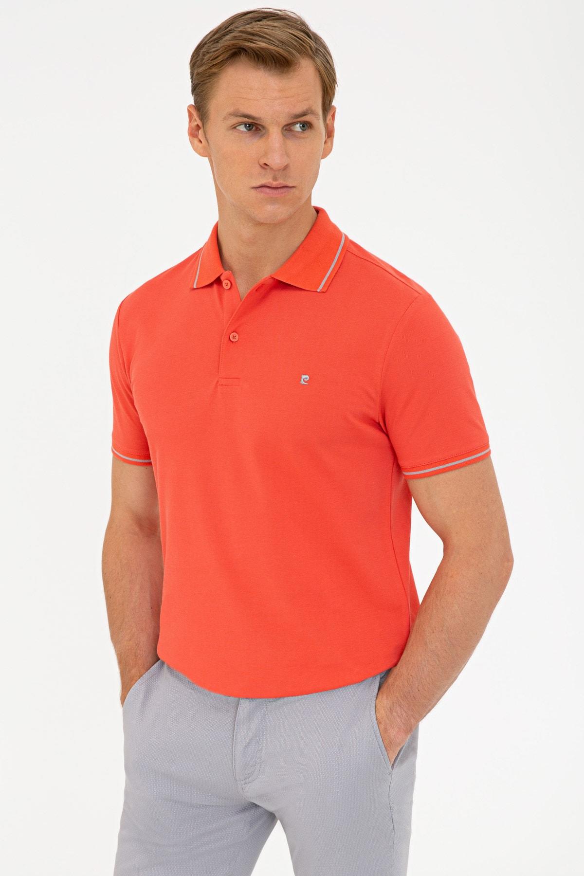مدل پولوشرت مردانه مارک پیرکاردن رنگ صورتی ty106292751