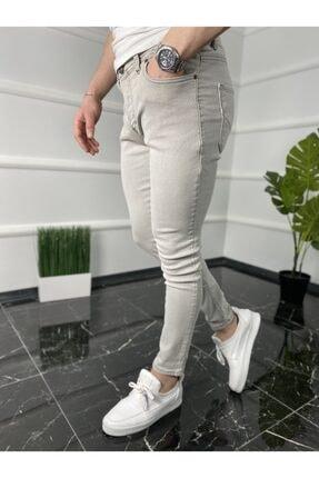 شلوار جین مردانه فروشگاه اینترنتی برند ukdeep رنگ نقره ای کد ty106438955