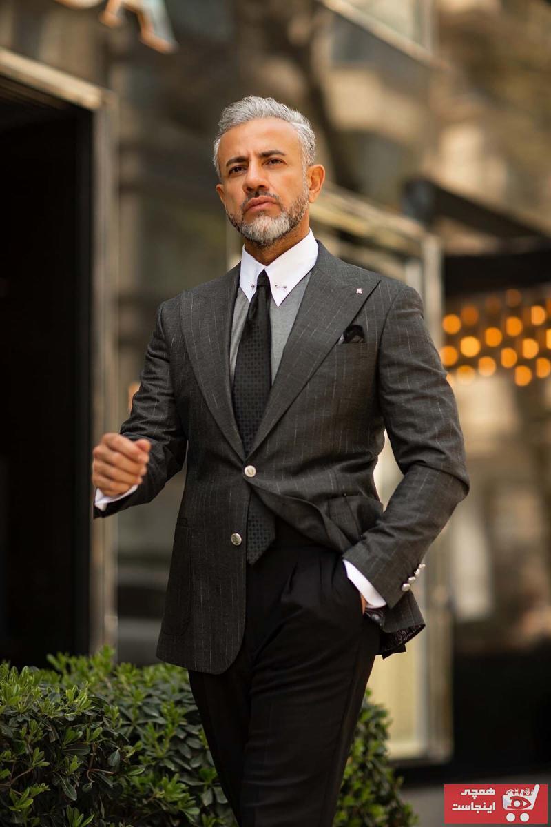 فروشگاه کت تک مردانه برند Fc Plus رنگ نقره ای کد ty106952797
