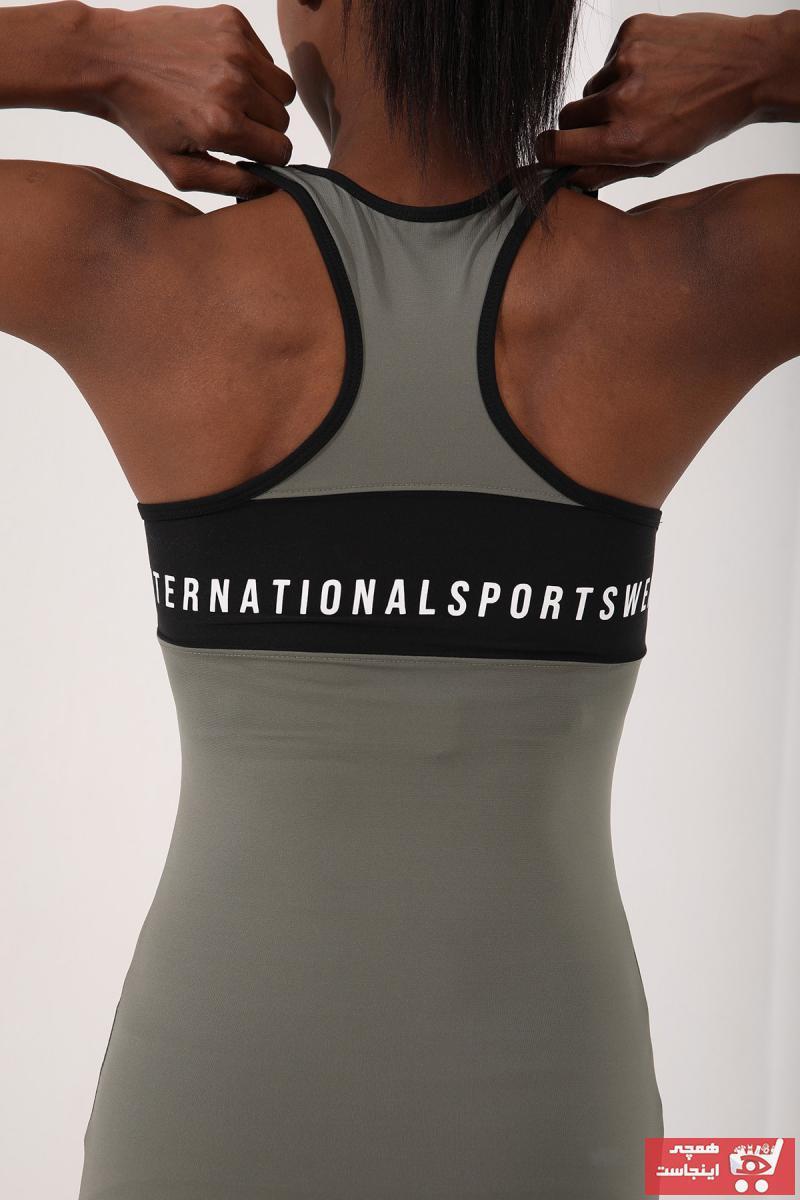 فروش رکابی ورزشی مردانه مارک تامی لایف رنگ سبز کد ty107972737