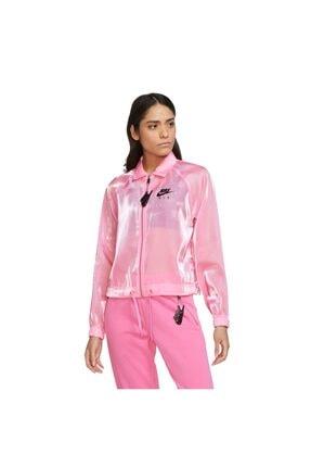 خرید انلاین گرمکن ورزشی طرح دار برند Nike اورجینال رنگ صورتی ty111691099