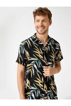 پیراهن مردانه زیبا برند کوتون رنگ مشکی کد ty112143383