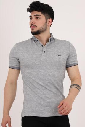 خرید انلاین پولوشرت مردانه ترکیه برند Stilkombin رنگ نقره ای کد ty112625916