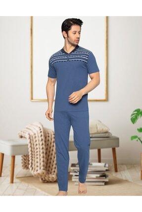 ست راحتی خاص برند Ayans Pijama رنگ لاجوردی کد ty113293105