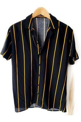 پیراهن کلاسیک مردانه ساده برند Hazhers رنگ مشکی کد ty113842221
