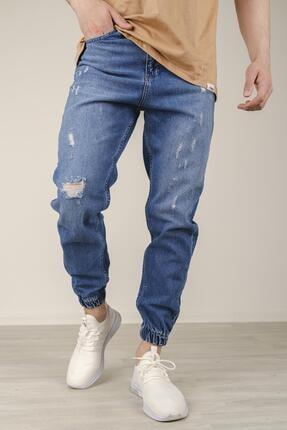 شلوار جین مردانه برند Oksit رنگ آبی کد ty113971380