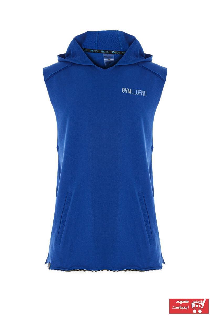 خرید نقدی رکابی ورزشی ارزان مردانه برند Gymlegend رنگ لاجوردی کد ty114036948