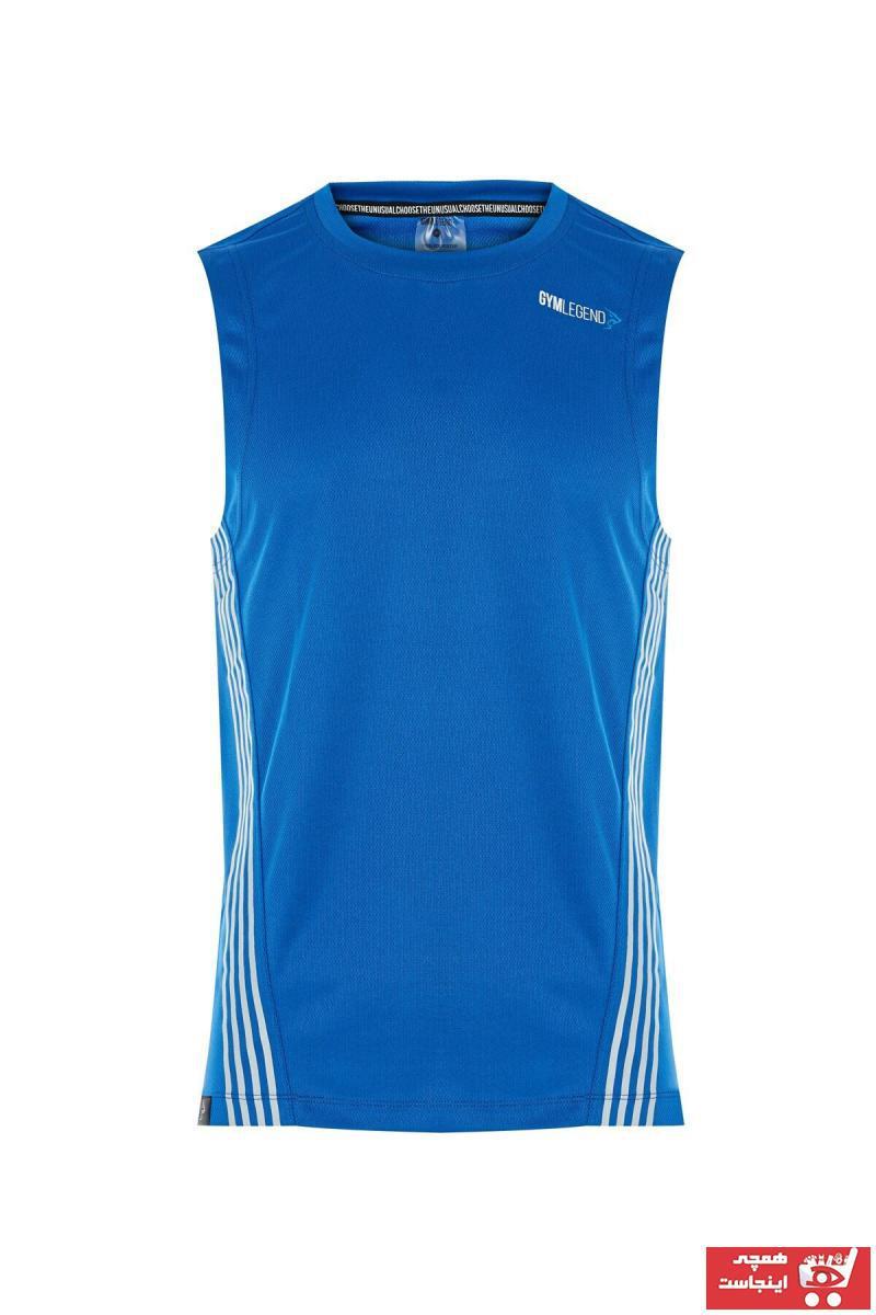 فروش تاپ ورزشی جدید برند Gymlegend رنگ لاجوردی کد ty114038773