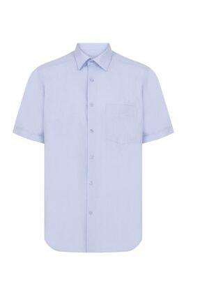 پیراهن کلاسیک مردانه جدید برند nacar çarşı رنگ آبی کد ty114884155