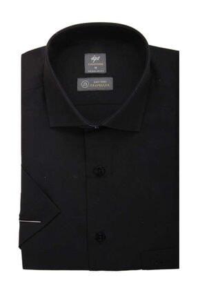 پیراهن کلاسیک خفن برند İgs رنگ مشکی کد ty117088224