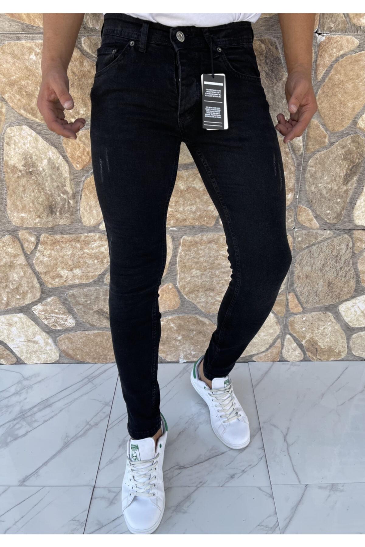 خرید مستقیم شلوار جین جدید برند Dr Dnm Remix رنگ مشکی کد ty117303890