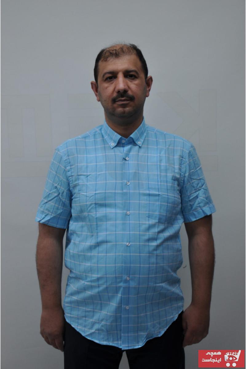 پیراهن کلاسیک مردانه ترک برند SEMENTİ رنگ آبی کد ty117614906