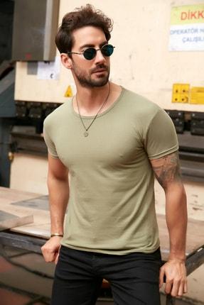 خرید مدل تی شرت مردانه برند Sateen Men رنگ سبز کد ty118077167