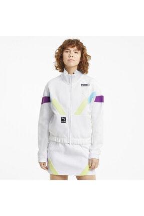 خرید پستی گرمکن ورزشی مردانه پارچه نخی برند Puma رنگ بنفش کد ty118989041